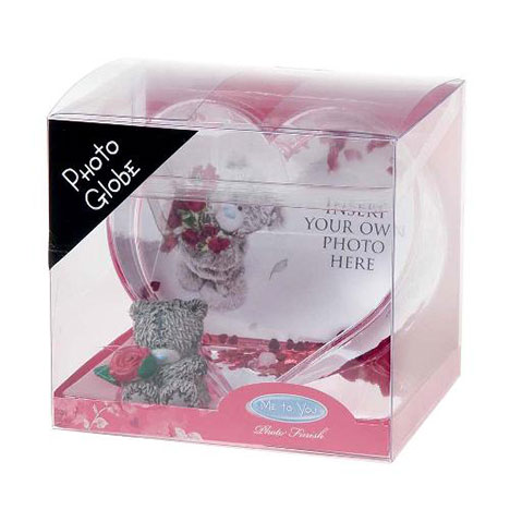 Heart Shaped Me to You Bear Photo Globe  £6.99