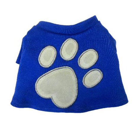 Tatty Puppy Me to You Bear Blue Paw Print T-shirt  £3.99
