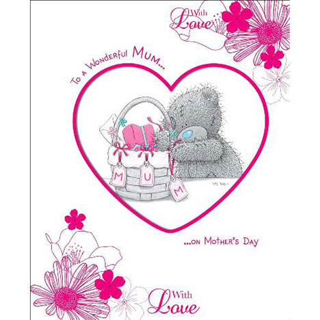 Wonderful Mum Me to You Bear Luxury Mothers Day Card  £7.99