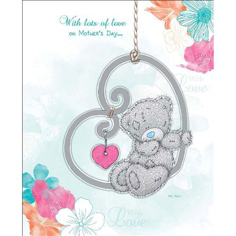 With Lots of Love Me to You Bear Mothers Day Card  £4.99