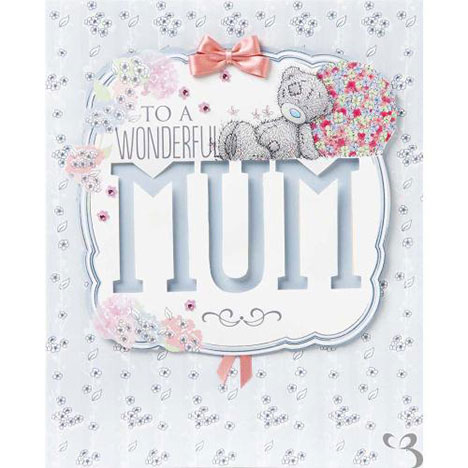 Mum Me to You Bear Luxury Mothers Day Card  £7.99