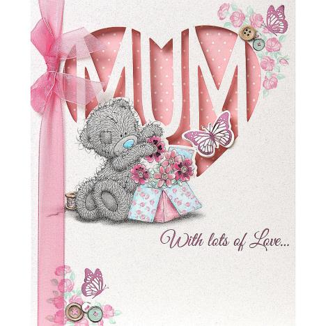 Mum Me to You Bear Handmade Mothers Day Card  £4.99