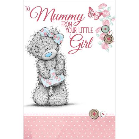 Mummy From Little Girl Me to You Bear Mothers Day Card  £1.89