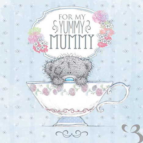 Yummy Mummy Me to You Bear Mothers Day Card  £1.49