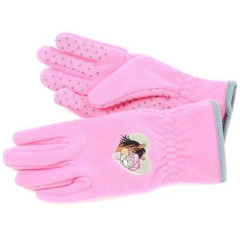 Me to You Bear Pink Fleece Riding Gloves Age 10-12 Age 10-12 £12.00