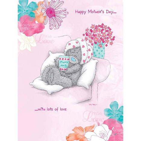 Happy Mothers Day With Love Me to You Bear Card  £3.45