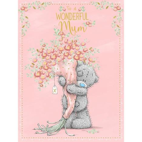 Wonderful Mum Large Me to You Bear Mothers Day Card  £3.59