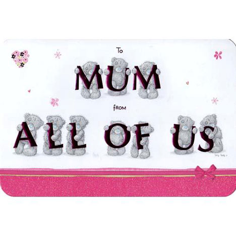 Mum from All of Us Mothers Day Me to You Bear Card  £3.45