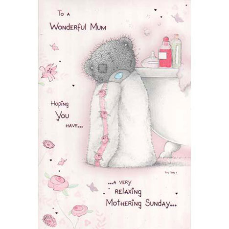 Wonderful Mum Me to You Bear Mothers Day Card  £3.45
