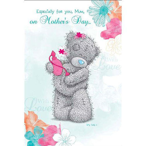 Mum with Perfume Me to You Bear Mothers Day Card  £3.45