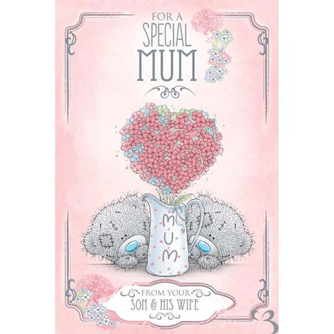 Mum From Son and Wife Me to You Bear Mothers Day Card  £3.59