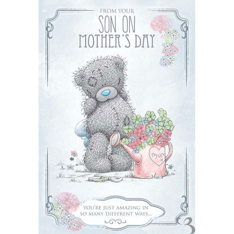 From Your Son Me to You Bear Mothers Day Card  £3.59