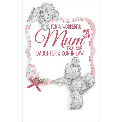 Mum From Daughter & Son In Law Me to You Bear Mothers Day Card  £3.59