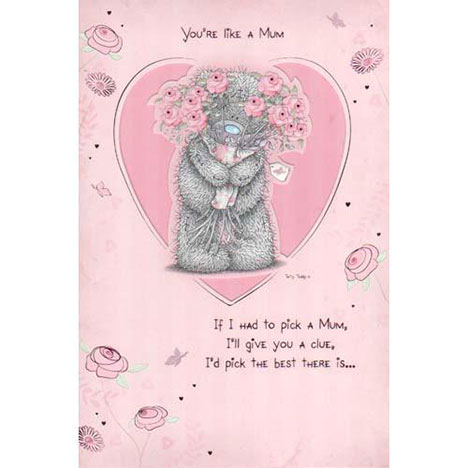 Like A Mum Me to You Bear Mothers Day Card  £2.40