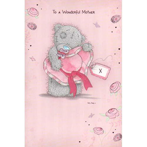 Wonderful Mother Me to You Bear Mothers Day Card  £2.40