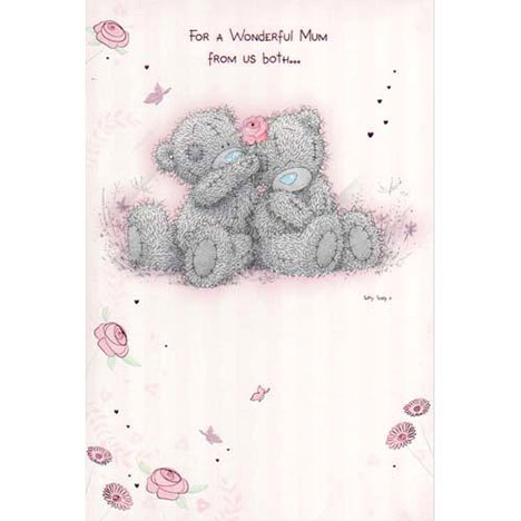 Mum From Us Both Me to You Bear Mothers Day Card  £2.40