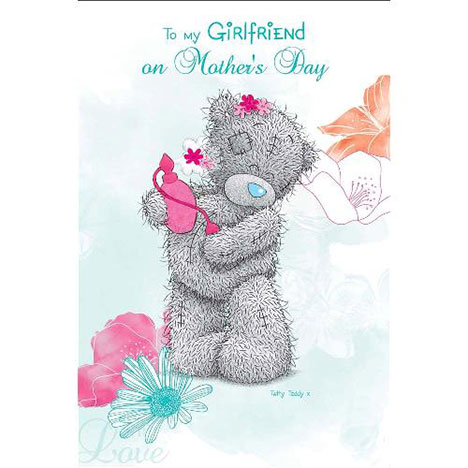 To My Girlfriend on Mothers Day Me to You Bear Card  £2.40