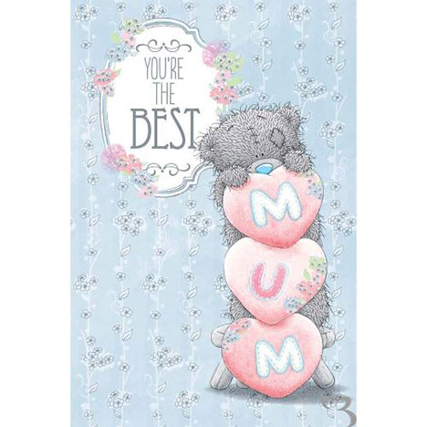 Mum You're the Best Me to You Bear Mothers Day Card  £2.49