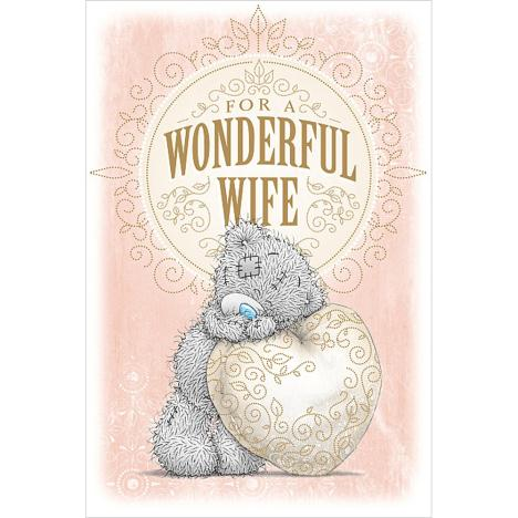 Wonderful Wife Me to You Bear Mothers Day Card  £2.49