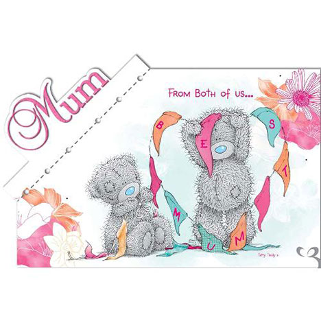 Mum from Both of Us Me to You Bear Mothers Day Card  £3.89
