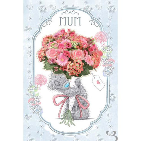 Mum Me to You Bear Mothers Day Card With Detachable Magnet  £3.59