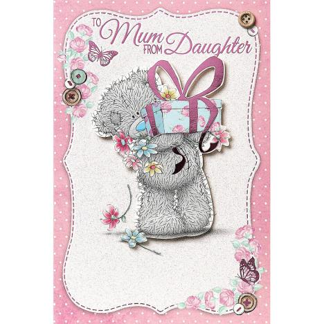 Mum From Daughter Me to You Bear Handmade Mothers Day Card  £3.99