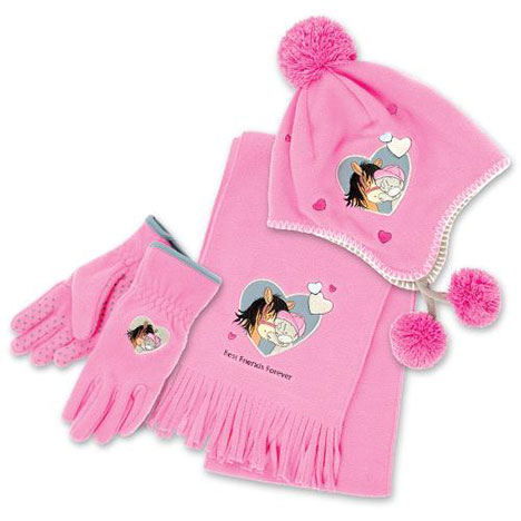 Me to You Bear Fleece Hat, Gloves & Scarf Set Age 10-12 Age 10-12 £30.00