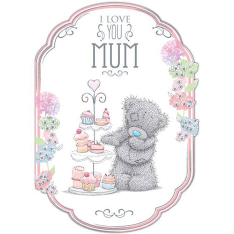 Mum Bear With Cakes Me to You Bear Mothers Day Card  £1.89