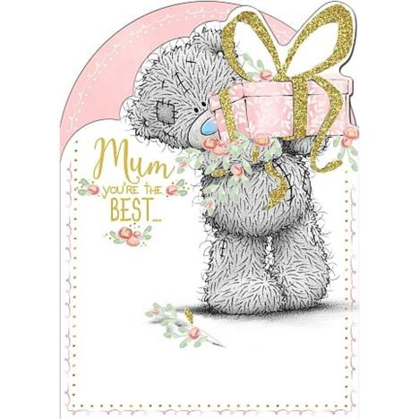 Mum Holding Present Me To You Mothers Day Card  £1.79