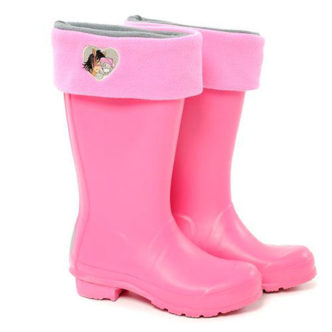 Small Me to You Bear Pink Fleece Boot Liner Size 7-9 Size 7-9 £14.00