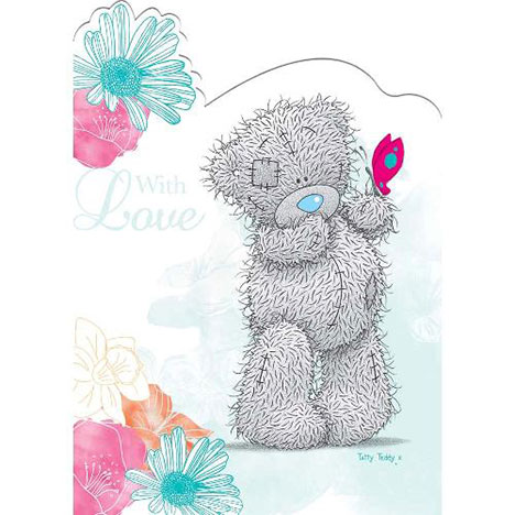 Tatty Teddy with Butterfly Special Mum Me to You Bear Mothers Day Card   £1.95