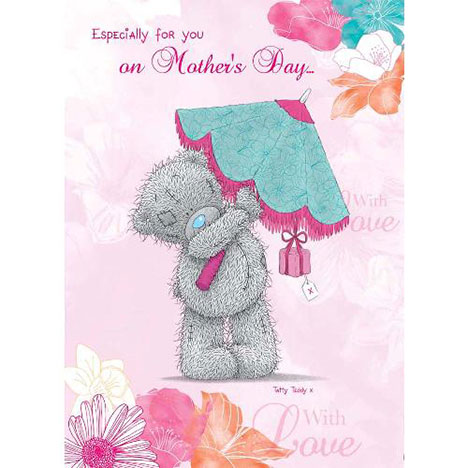 Tatty Teddy with Umbrella Me to You Bear Mothers Day Card  £1.60
