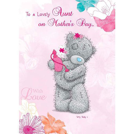 Lovely Aunt Me to You Bear Mothers Day Card  £1.60