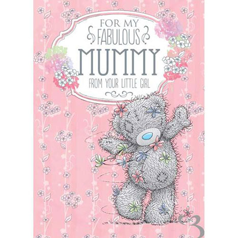 Mummy From Your Little Girl Me to You Bear Mothers Day Card  £1.49