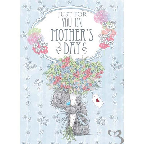 Just For You Me to You Bear Mothers Day Card   £1.79