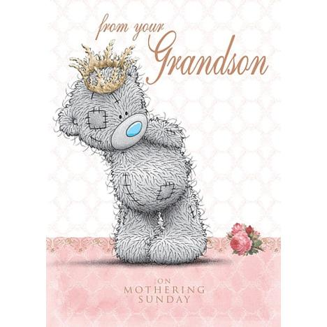 From Your Grandson Me to You Bear Mothers Day Card  £1.79