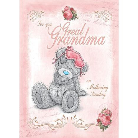 Great Grandma Me to You Bear Mothers Day Card  £1.79