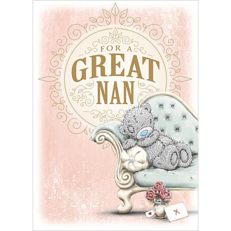 For A Great Nan Me to You Bear Mothers Day Card  £1.79