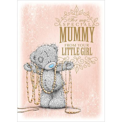 Mummy From Little Girl Me to You Bear Mothers Day Card  £1.49