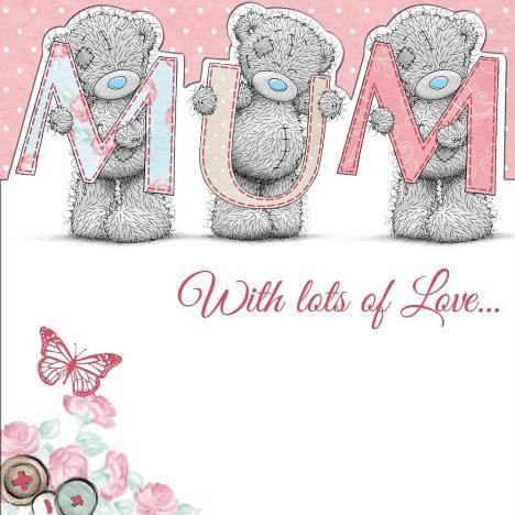 Mum Me to You Bear Mothers Day Card  £2.09