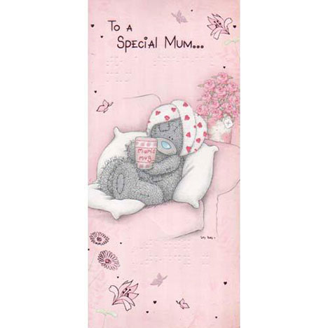 Special Mum Me to You Bear Mothers Day Braille Card  £1.80