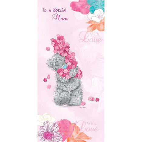 Braille Me to You Bear Mothers Day Card  £1.80