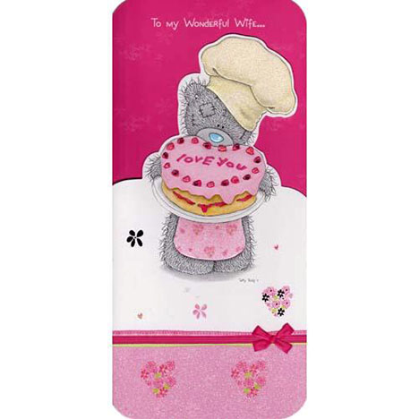 Wonderful Wife Mothers Day Me to You Bear Card  £3.15