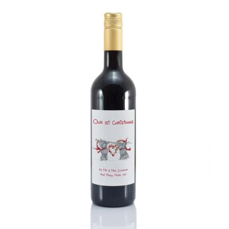 Personalised Me to You Our 1st Christmas Mulled Wine  £18.99