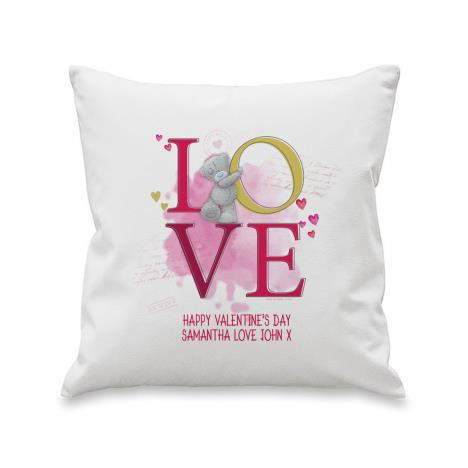 Personalised Me to You Bear LOVE Cushion  £19.99