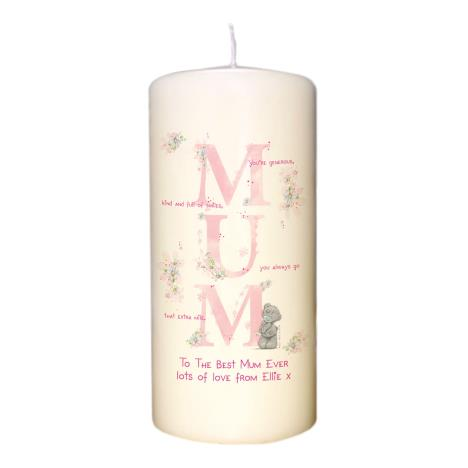Personalised Me to You MUM Pillar Candle  £14.99