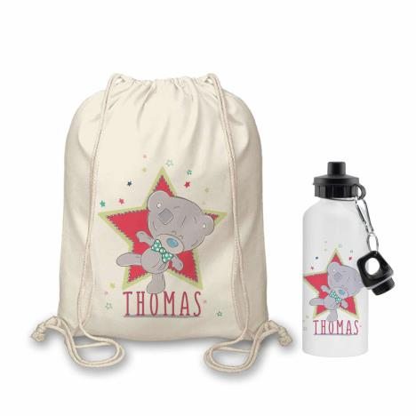 Personalised Tiny Tatty Teddy Little Circus Bag & Bottle Set  £24.99