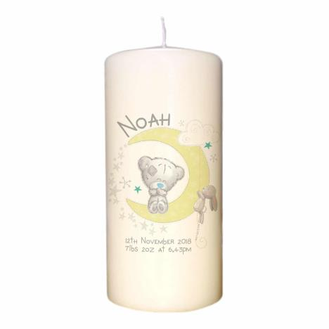 Personalised Me to You Baby & Me Pillar Candle  £14.99