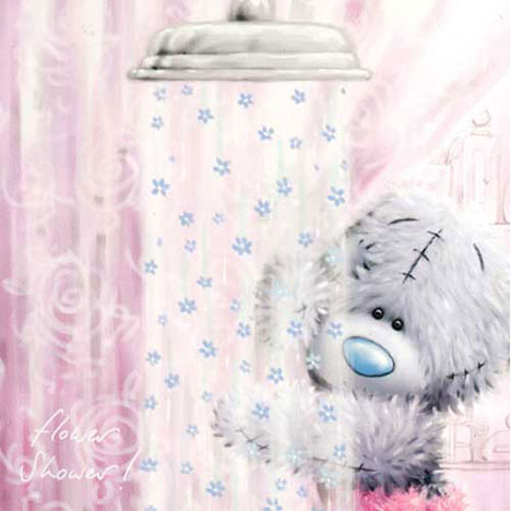 Tatty by Shower of Flowers Me to You Bear Mothers Day Card   £2.25