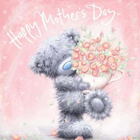 Tatty Teddy With Flowers Me to You Bear Mothers Day Card  £2.09